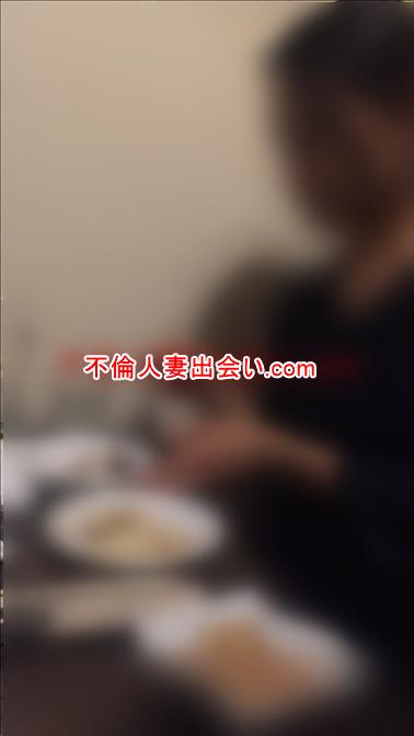 人妻さんと食事