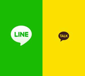 LINEとカカオトーク