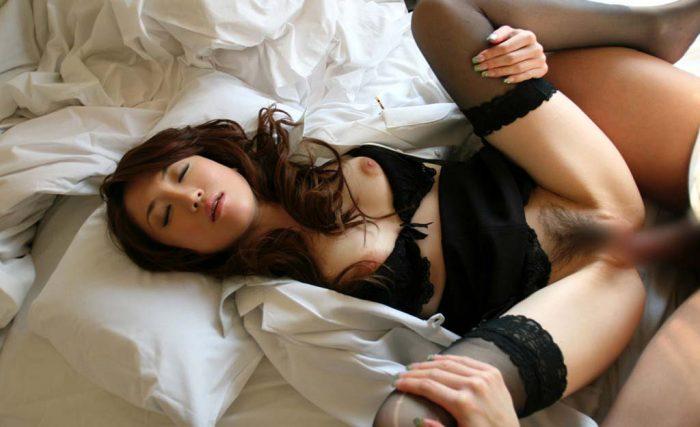 熟女とのセックス写真
